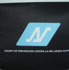 equipo prevención gripe H1N1 para tripulantes de barcos de carga y pasajeros
