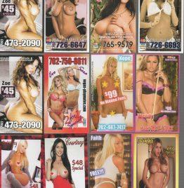 220 tarjetas de escorts USA doble faz una chica diferente de cada lado