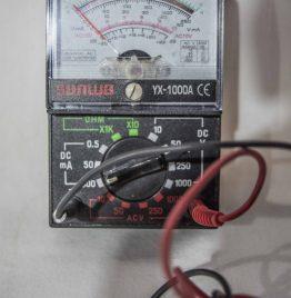 multimetro tester sunwa yx1000A con puntas