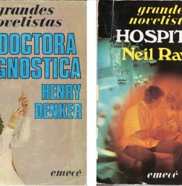 2 libros hospital + la doctora diagnostica