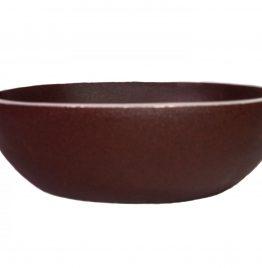 Adorno metálico contenedor souvenir con forma de grano de café 15.5 x 12.5 x 5.5