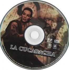 Dvd la cucaracha original sin tapa