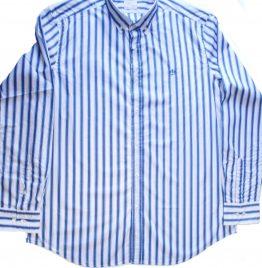 Camisa blanca con rayas azules marca Scappino nueva T/XL