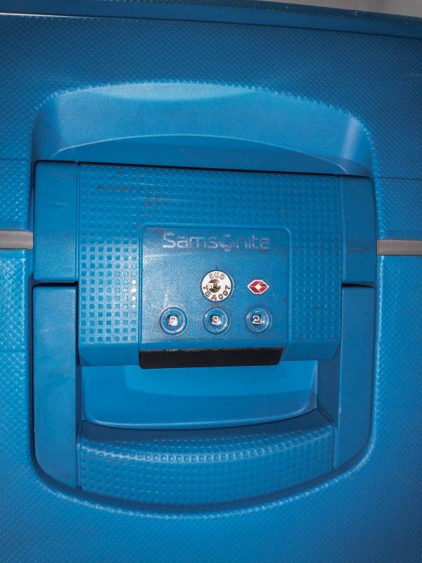maleta Samsonite S'Cure Spinner L Maleta, 75 cm, 102 L, Azul (Dark Blue)